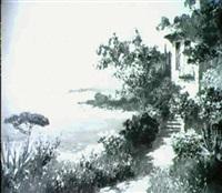 ansicht von capri by a. arnegger