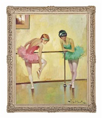 the ballet dancers by juan giralt lerin