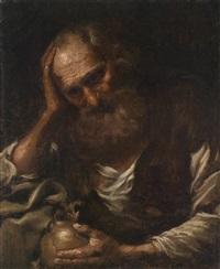 ein philosoph (heraklit?) by bernhard keil