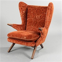 wingback armchair (model 91) by svend skipper