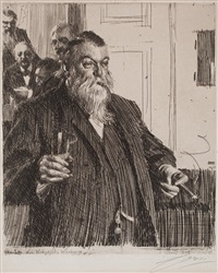a toast ii by anders zorn