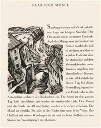 mit 50 ps. ein holzschnittbuch (bk w/49 works, 4to) by hans alexander müller