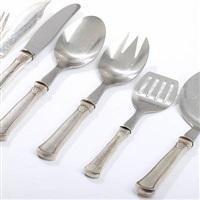 arvesølv nr. 5 fish knives and fish forks (set of 29) by hans hansen (co.)
