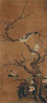 花鸟 by zhou zhimian