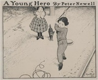 a young hero by peter newell
