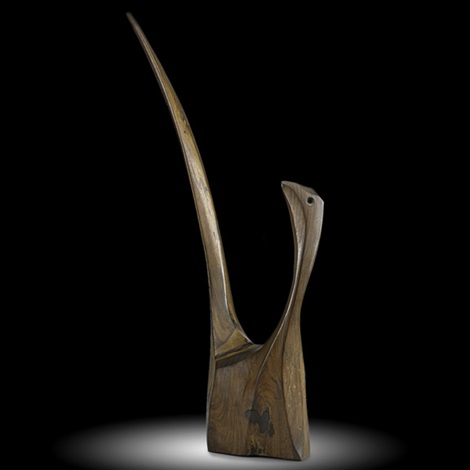 untitled pheasant by wharton h esherick