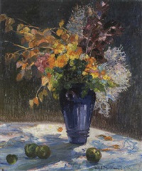 blumen in der sonne by carl adolf korthaus