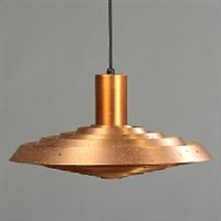 langelinie/ph-plate ceiling lamp by poul henningsen