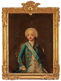 kronprins gustaf iii (1746-1792) (= the crown prince gustaf) by ulrika (ulla frederika) pasch