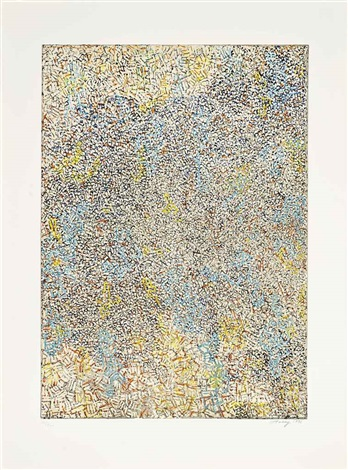 the passing a set of eight by mark tobey