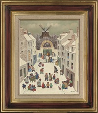 moulin de la galette by jean axatard