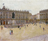 place stanislas in nancy by charles de meixmoron de dombasle