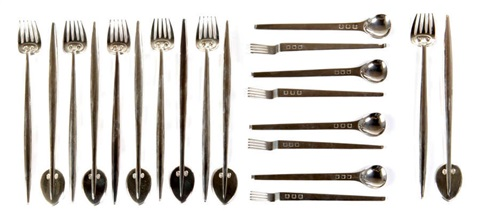 ménagère set of 18 by charles rennie mackintosh