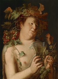 bacchus by joachim anthonisz wtewael