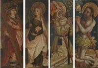 heilige helena (+ three others; 4 works) by german school-southern (15)