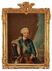 hertig karl (karl xiii) (1748-1818) (= the duke karl, later king) by ulrika (ulla frederika) pasch