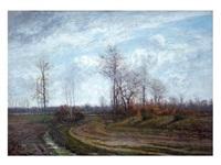paisaje de invierno by josé armet portanel