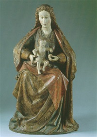 madonna mit kind by flemish school-brabant (15)