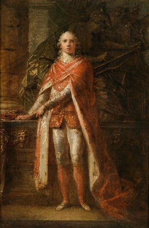 bildnis des marzio mastrilli marchese später duca di gallo 1753 1833 im ornat des neapolitanischen januariusordens by friedrich heinrich füger