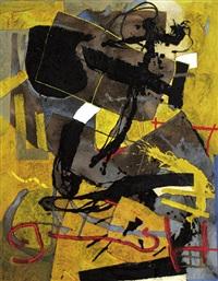 abstrakte komposition by gregor hiltner