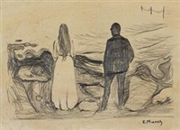 签名画作 by edvard munch