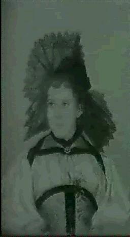 trachtenportrait eines jungen madchens by anna abys lotz