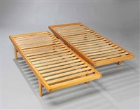 daybeds (model h9) (pair) by poul volther