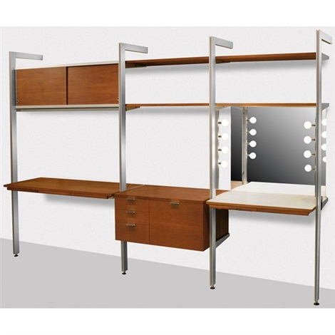 css wall unit, vanity by george nelson & associates