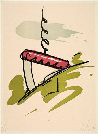 the knife in brüglingen park 5 others 6 works by claes oldenburg