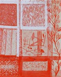 utsikt i rött by oliver herdies
