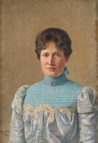 portrett av elisabeth faye by hans dahl