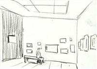 ohne titel (2 works) by matthias weischer