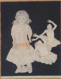 puppe stehend und kinderbalett by elmar peintner