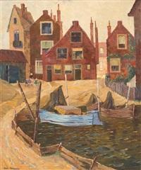 beschauliche holländische hafenstadt by joan anacker