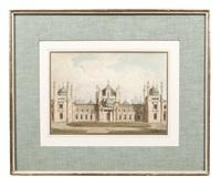 the royal pavilion at brighton (set of 14) by john nash