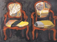 two chairs by andre naude