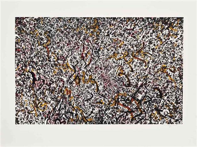 october (nine works) by mark tobey