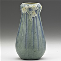 transitional vase with daffodils by anna frances connor simpson