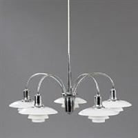 cascade chandelier by poul henningsen