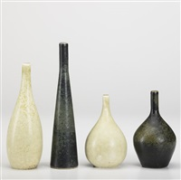 bud vases (set of 4) by rörstrands porslinsfabriker (co.)
