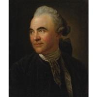 portrait of johann georg sulzer by anton graff
