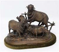 les trois moutons by jules moigniez