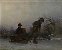 barn på skridsko by carl theodor staaf