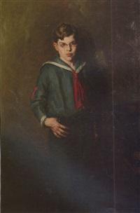 portrait of richard w. sears, ii by henry salem hubbell