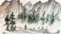 scenery by ma qunxiong