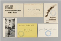 boxkampf 1972 / 22 postkarten 1973 by joseph beuys