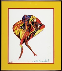 red figure by miles davis