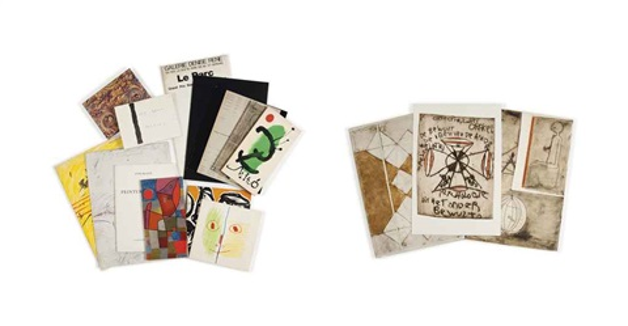 geh durch den spiegel portfolio of 6 verwelkte vrees portfoio of 2 and 6 others 14 works by anton heyboer