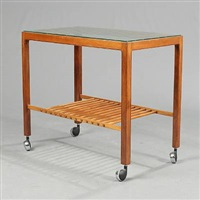 serving cart by knud andersen