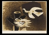 loiseau et son nid by georges braque